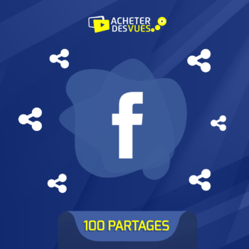Acheter 100 partages Facebook