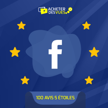 Acheter 100 recommandations Facebook