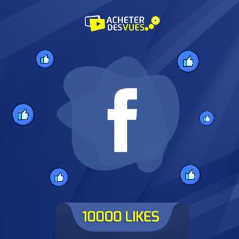 Acheter 10000 Likes Facebook