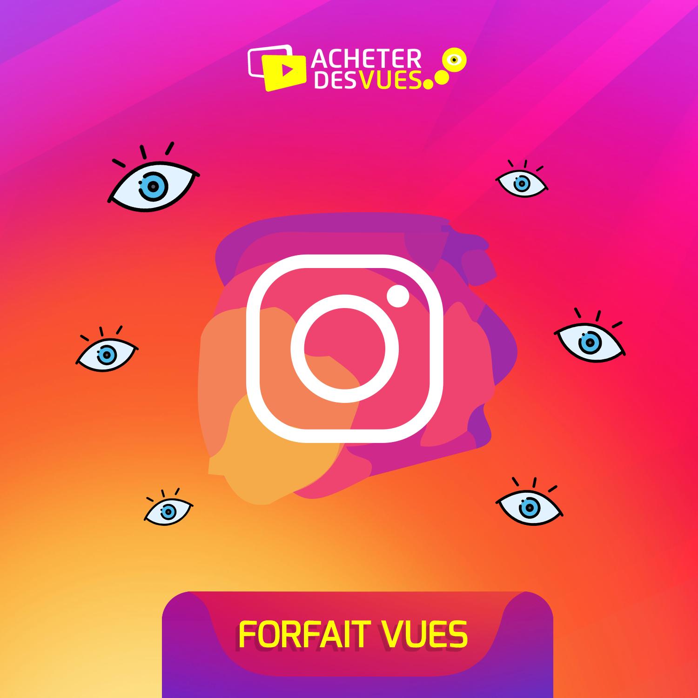 Acheter des vues Instagram automatique