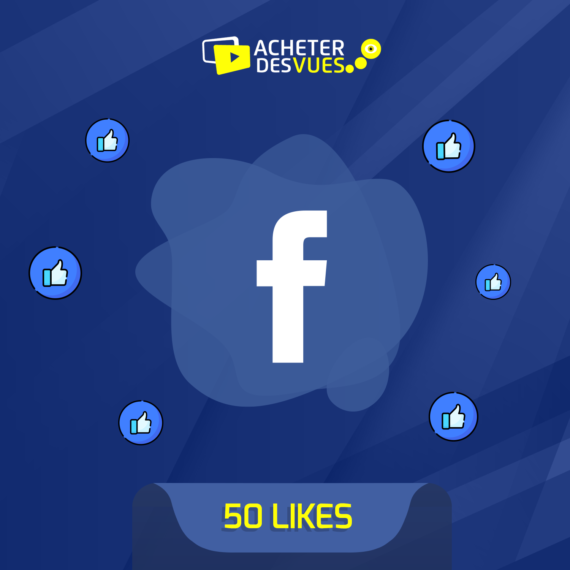 Acheter 50 Likes Facebook