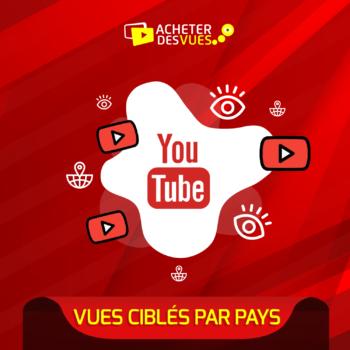 Acheter des vues YouTube géolocalisées