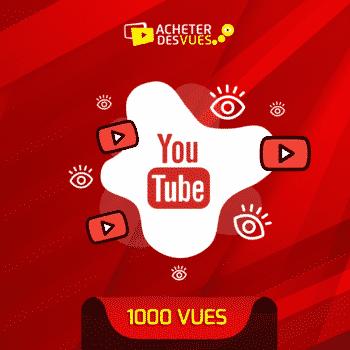acheter 1000 vues YouTube