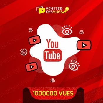 acheter 1000000 vues YouTube