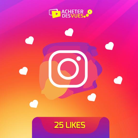 Acheter 25 Likes Instagram