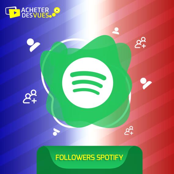 Acheter des Followers Spotify Français