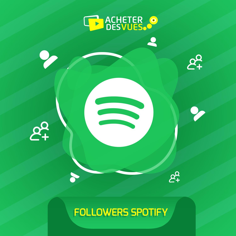 Acheter des Followers Spotify