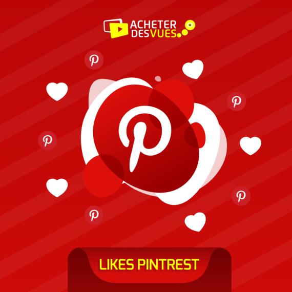 Acheter des Likes Pinterest