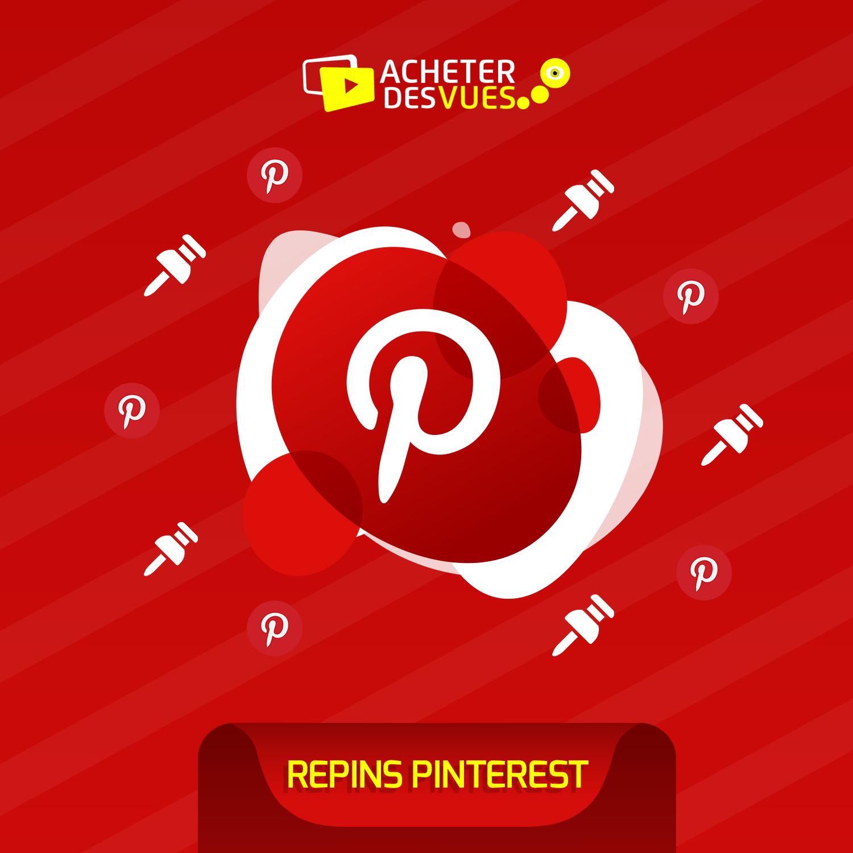 Acheter des Repins Pinterest