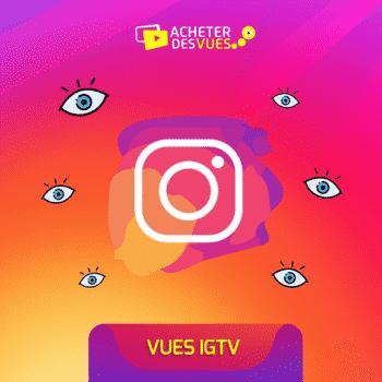 Acheter des vues Instagram pour IGTV